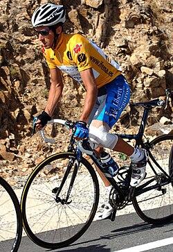 Roberto Heras at the Vuelta a España 2005