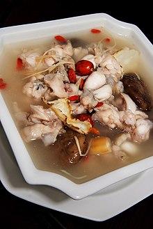 Chinese Style Singaporean Herbal Frog Leg Soup