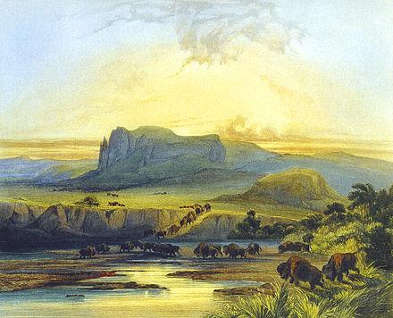 indianer landschaft einfluss prärie
