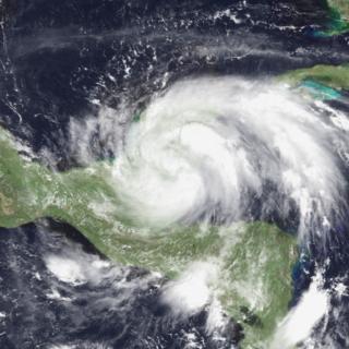 Tropical Storm Hermine (1980) Atlantic tropical storm in 1980