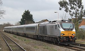 British Rail Class 68 - A Class 68 operating a Chiltern Railways passenger service