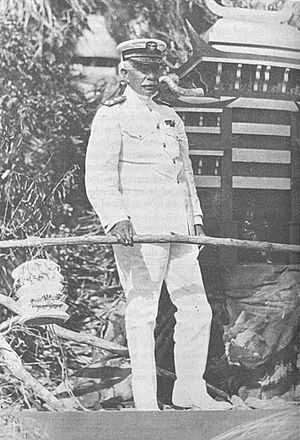 Hilary P. Jones - As Commander in Chief, U.S. Fleet, c. 1921.