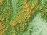 Hiraodai Relief Map, SRTM-1.jpg
