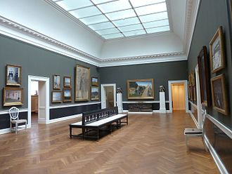 Hirschsprung Collection - The large gallery
