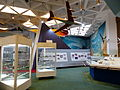 History of Flight Area, 2nd Floor of Aviation museum 20130928b.jpg