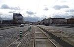 Hlávkův most, ze Štvanice k Wilsonově ulici.jpg