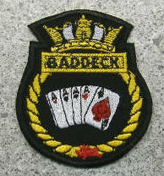 HMCS Baddeck (K147) - Image: Hmcs baddeck crest