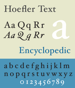 Hoefler Text