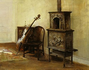 Interieur with a Cello