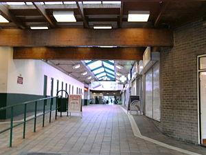 Holt Park - The Interior of the Holt Park District Centre.