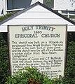 Holy Trinity Episcopal Church (Melbourne, Florida) Sign.jpg