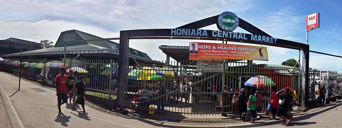 Capital City Oil >> Honiara Central Market - Wikipedia