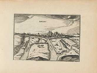 Christophe Tassin - View of Amiens in 1634