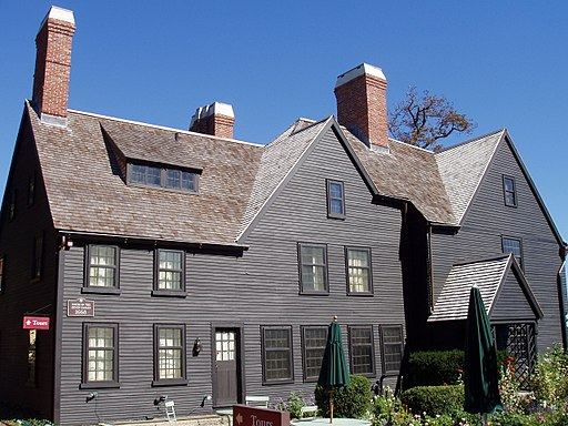 House of the Seven Gables (side) - Salem, Massachusetts
