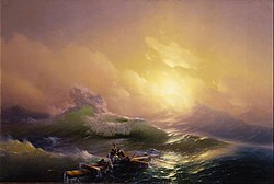 Ivan Aivazovsky: The Ninth Wave