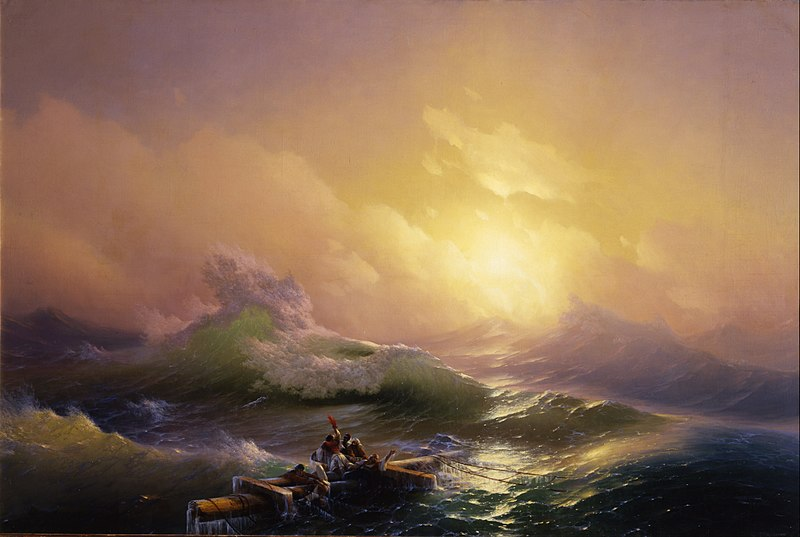 File:Hovhannes Aivazovsky - The Ninth Wave - Google Art Project.jpg