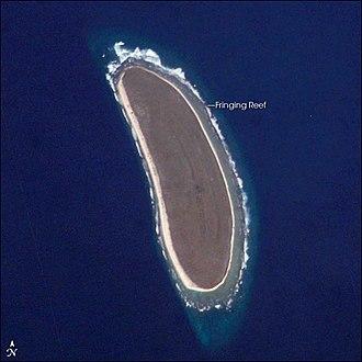 Howland Island - Image: Howland island nasa