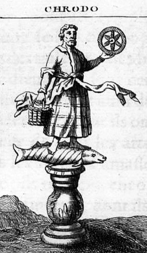 Rod (Slavic religion) - Illustration of Rod from the L'Antiquité expliquée et représentée en figures, Montfaucon, France, 1722.