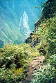 Huayna Picchu Descending pathway.jpg