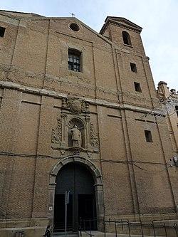 Huesca - Iglesia de San Vicente el Real - Fachada.jpg