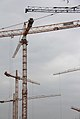 Huge construction - +15 cranes (not fit all into the photo) Stuttgart - Germany (8917178815).jpg