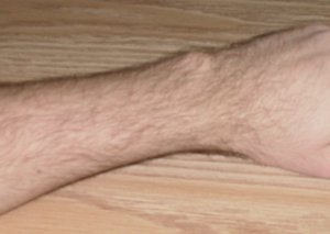 This is a photo I took of my wrist.