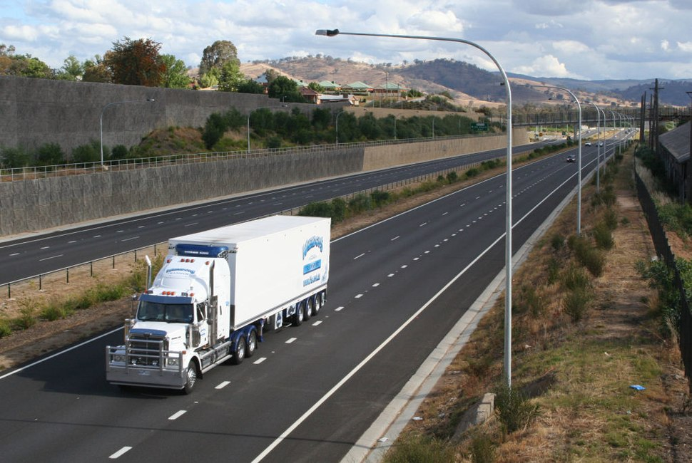 Hume Freeway Albury 2008