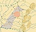 Hungarian-Romanian War of 1919, Romanian advance to Tisza - blank.jpg