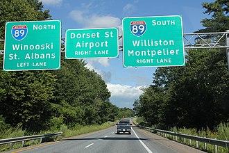Interstate 189 - Image: I189 east terminus