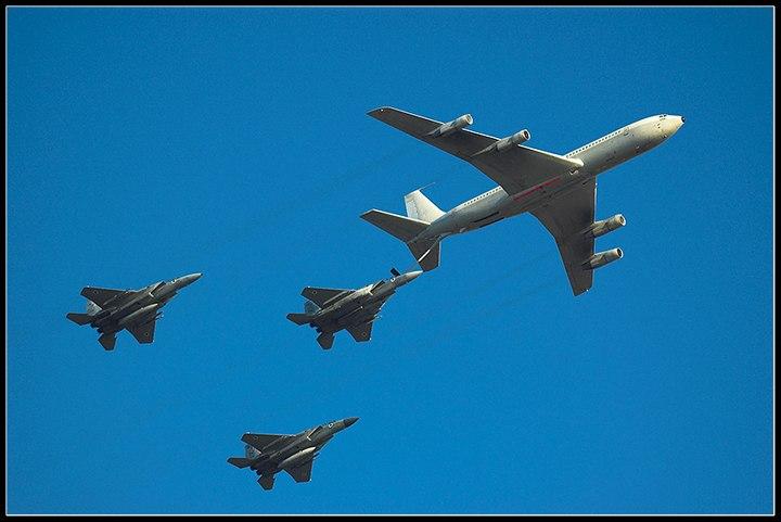 IAF B707 Refulling