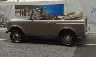 International Harvester Scout - 1966–1968 Scout 800 Sportop convertible