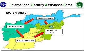 ISAF Expansion 4-stages 2004-2006