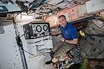 ISS-58 David Saint-Jacques works inside the Unity module.jpg