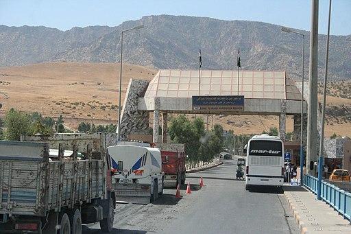Ibrahim Khalil Border Iraq August 2009 - 12