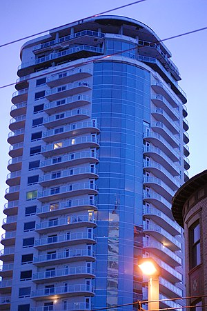 History of Edmonton - Icon Tower I, completed spring 2009