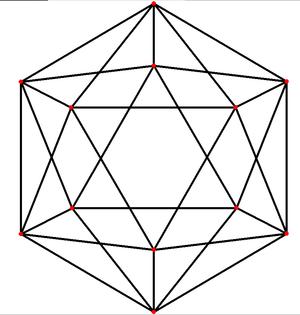 Platonic graph - Image: Icosahedron t 0 A2