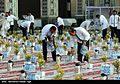 Iftar Serving for fasting people in the holy shrine of Imam Reza 01.jpg