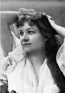 Ilka Pálmay Hungarian singer and actress