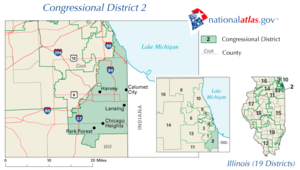 United States House of Representatives elections in Illinois, 2006 - Image: Illinois' 2nd congressional district