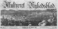 Illustreret Nyhedsblad masthead 1852.png