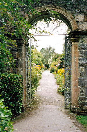 Garnish Island - Entrance to walled garden
