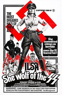 <i>Ilsa, She Wolf of the SS</i> 1975 exploitation film by Don Edmonds