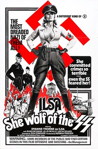 Ilsa, She Wolf of the SS - Image: Ilsa she wolf of ss poster 02