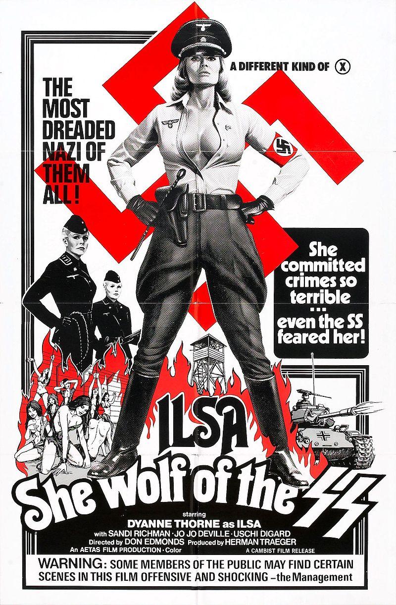 El gran topic de las TRILOGÍAS de cine - Página 2 800px-Ilsa_she_wolf_of_ss_poster_02