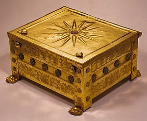 Vergina Sun - The Golden Larnax of Philip II of Macedon (Vergina Collection, National Archaeological Museum of Thessaloniki).
