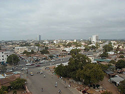 Panoramic view of Lome