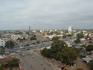 Panoramic view of Lomé