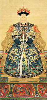 Qing Dynasty empress dowager