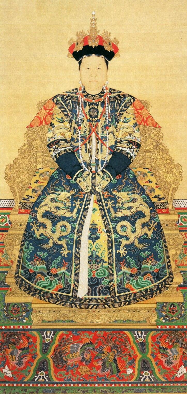 Imperial Portrait of Empress Xiao Zhuang Wen