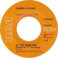 In the Year 2525 by Zager and Evans US vinyl Side-A RCA release.png